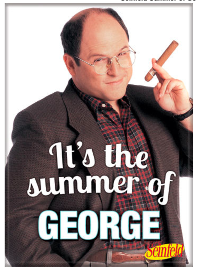 Seinfeld Summer of George Magnet