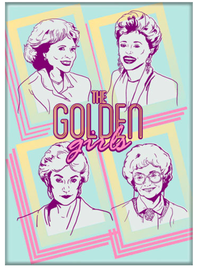 Golden Girls Cast Magnet
