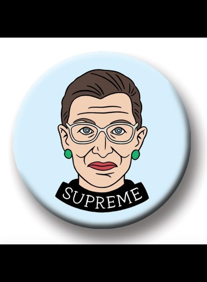 Ruth Bader Ginsburg Round Magnet