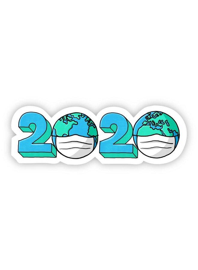2020 World Mask Sticker