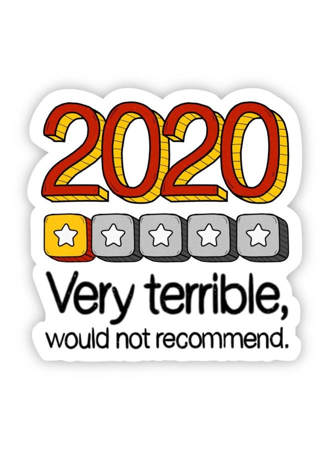 2020 Review Sticker