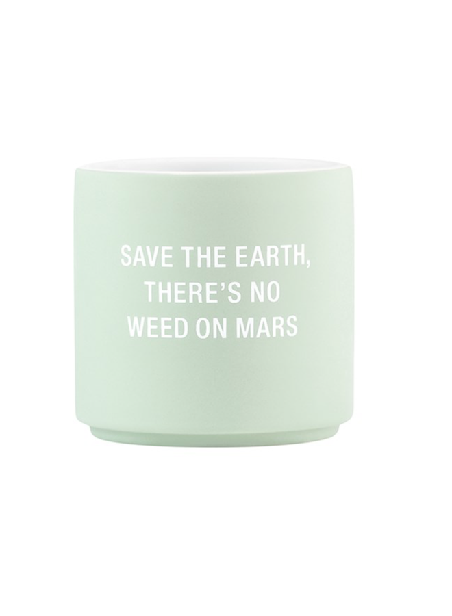 Save The Earth Planter