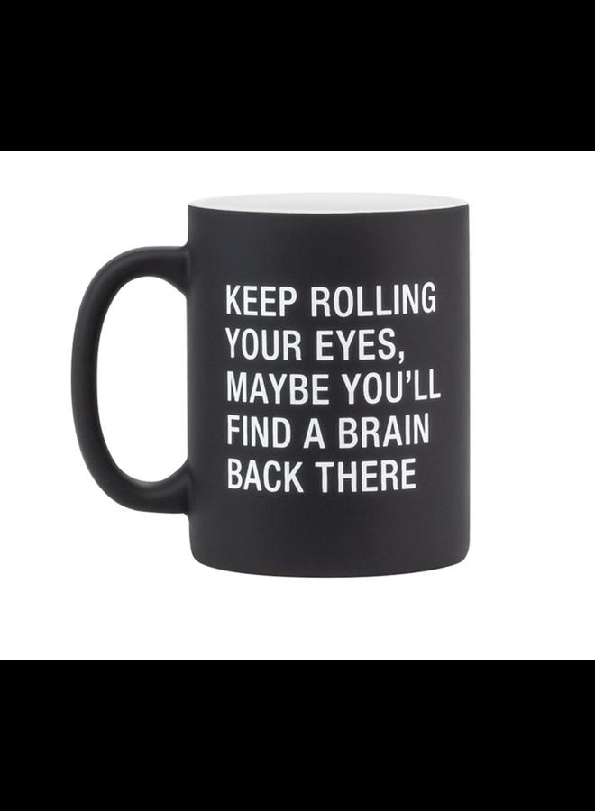 Rolling Your Eyes Mug