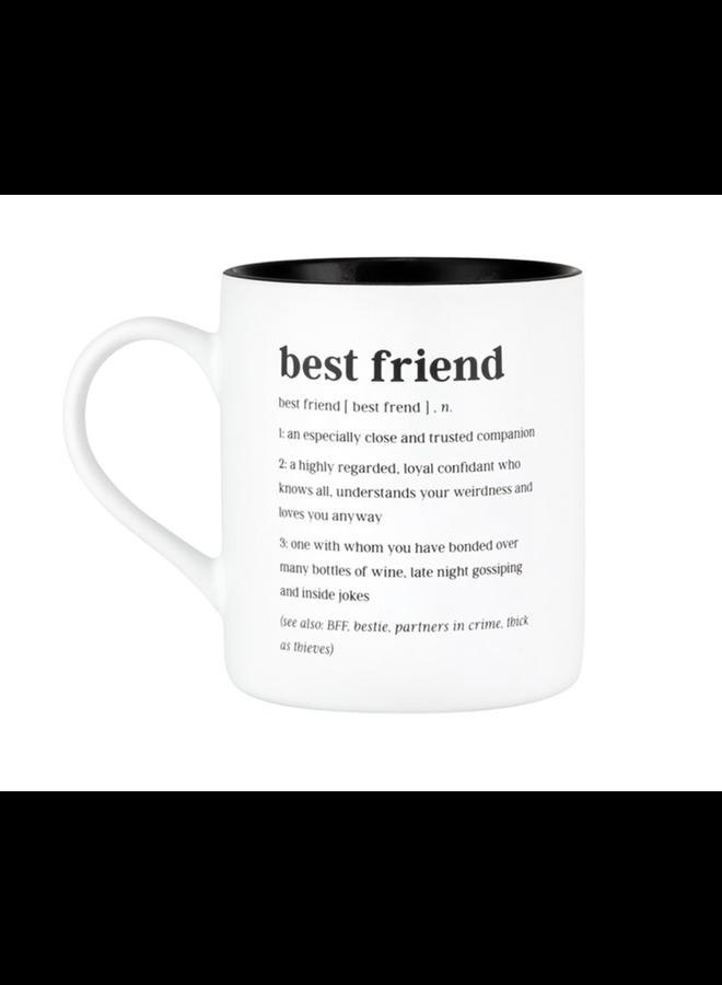Best Friend Definition Mug