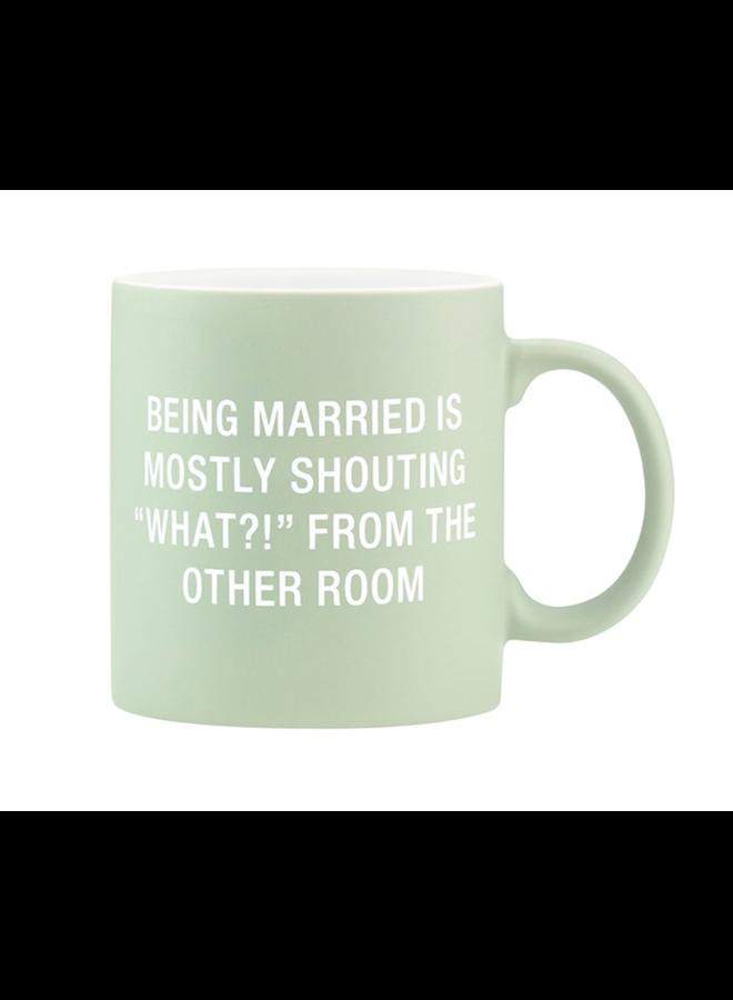 Being Married Mug