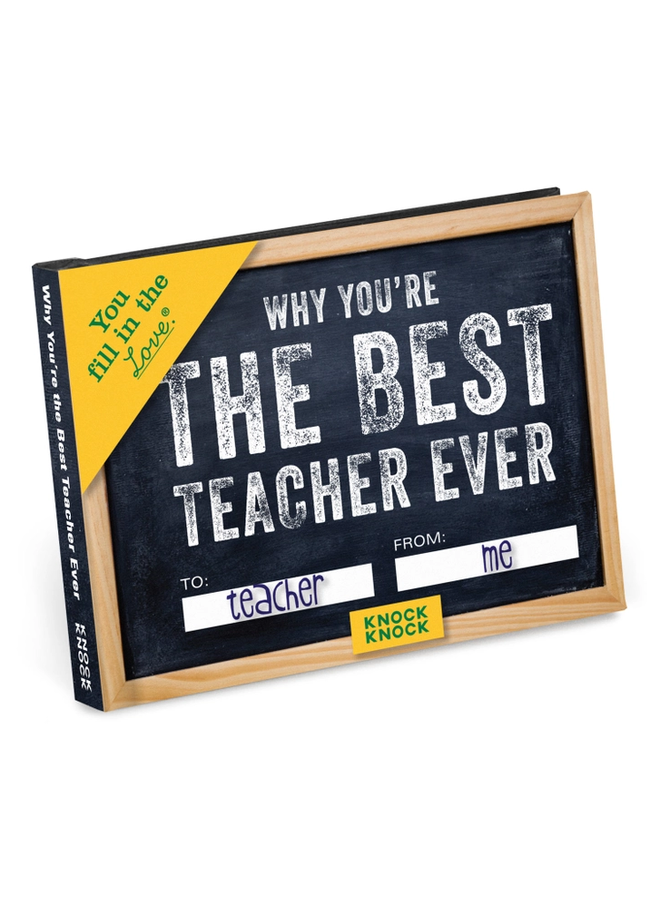 Why You're the Best Teacher Ever Book