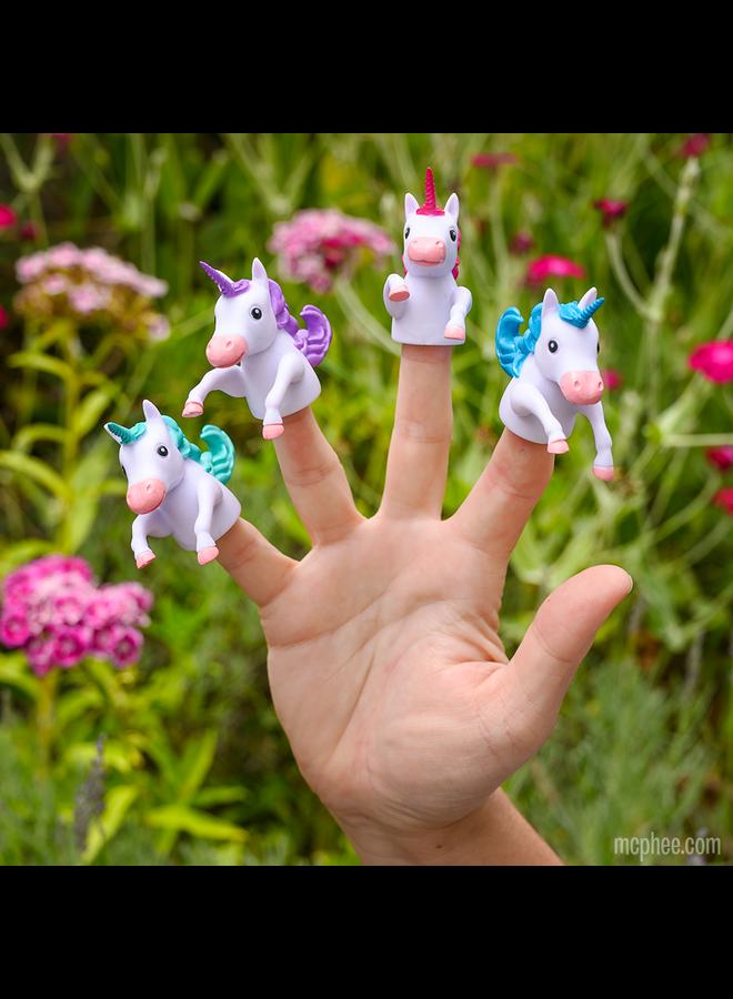 Unicorn Finger Puppet
