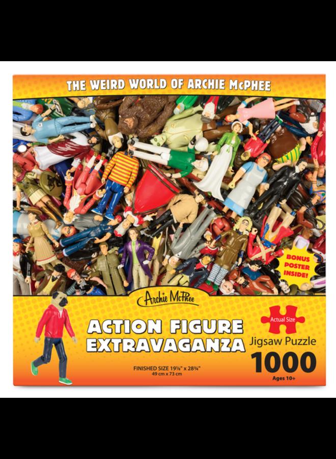 Action Figure Extravaganza Puzzle