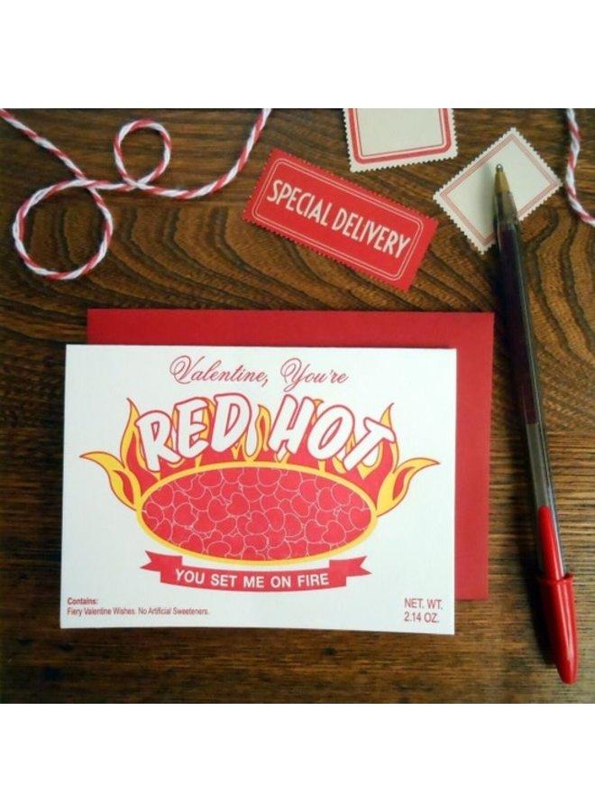 Red Hot Valentine Card