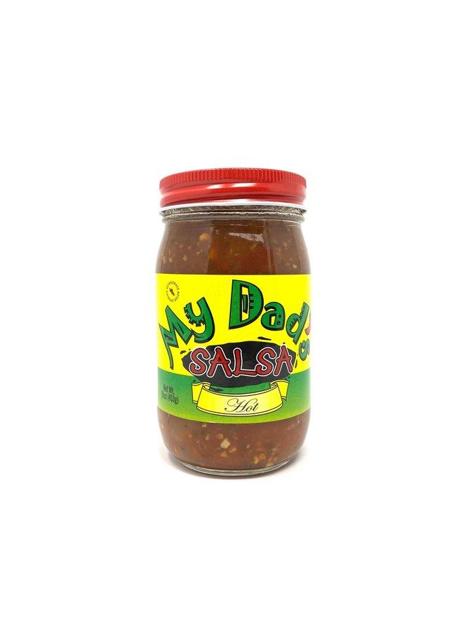 My Dad's Salsa, Pint Jar, Hot