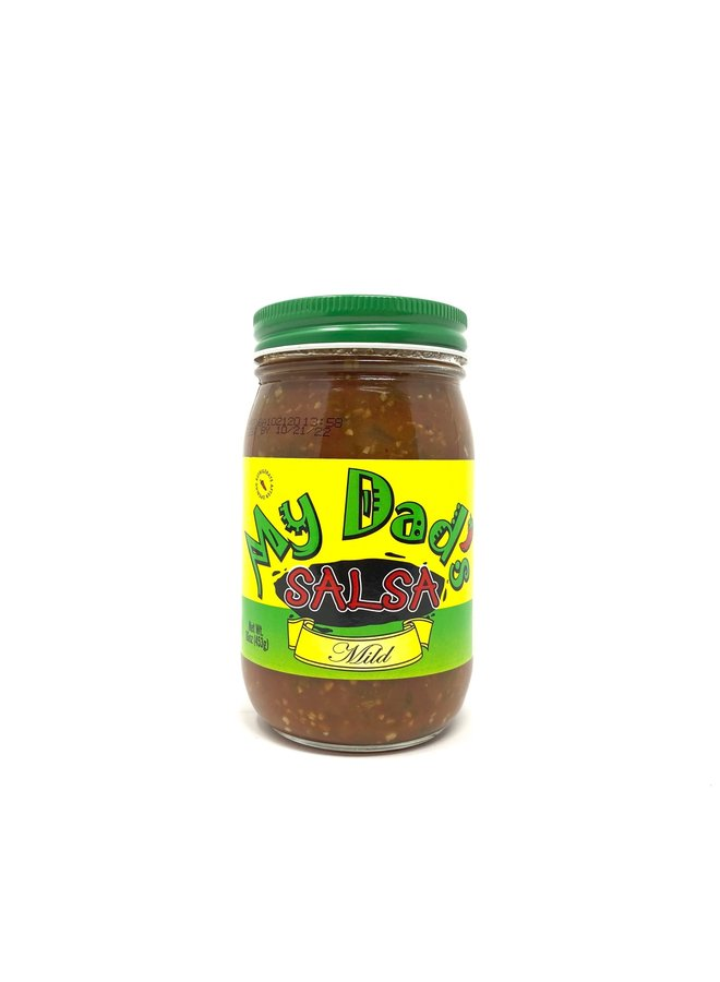 My Dad's Salsa, Pint Jar, Mild
