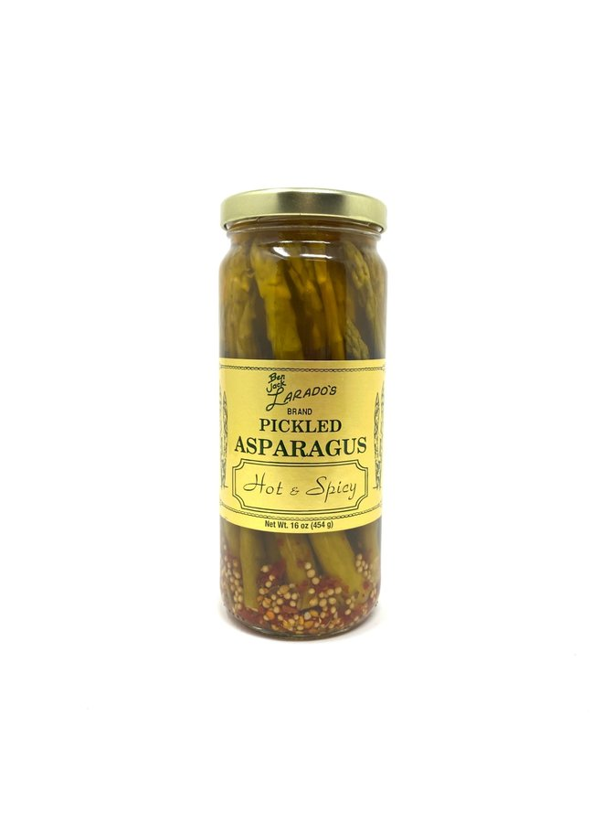 Hot & Spicy Pickled Asparagus
