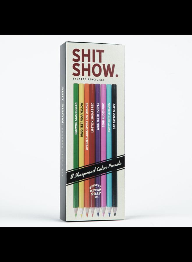 Shit Show Colored Pencils