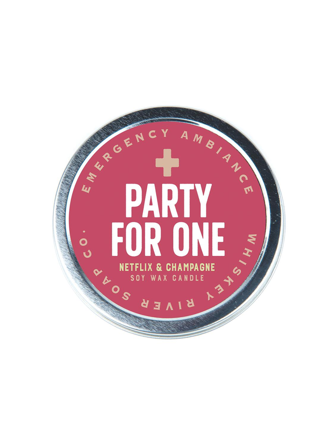 Party For One Candle Tin