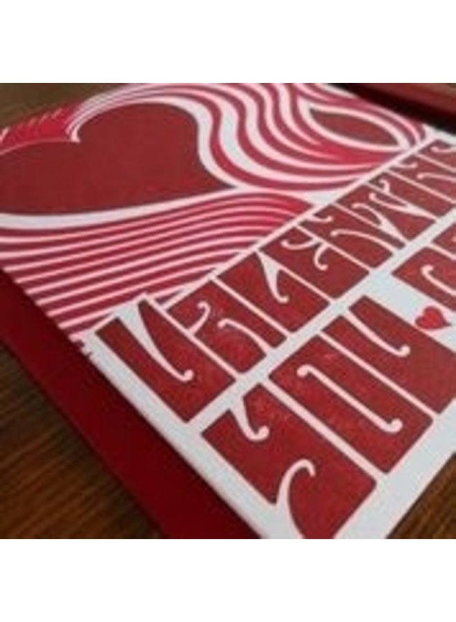 Fillmore Poster Valentine Card