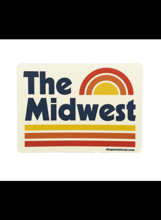 Midwest Vintage Sticker