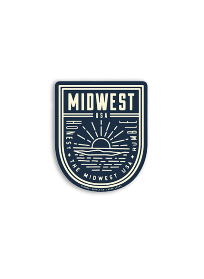 Midwest Humble/Honest Sticker
