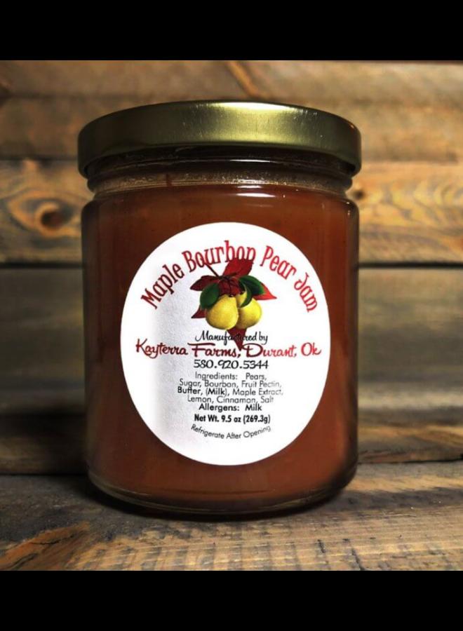 Maple Burbon Pear Jam