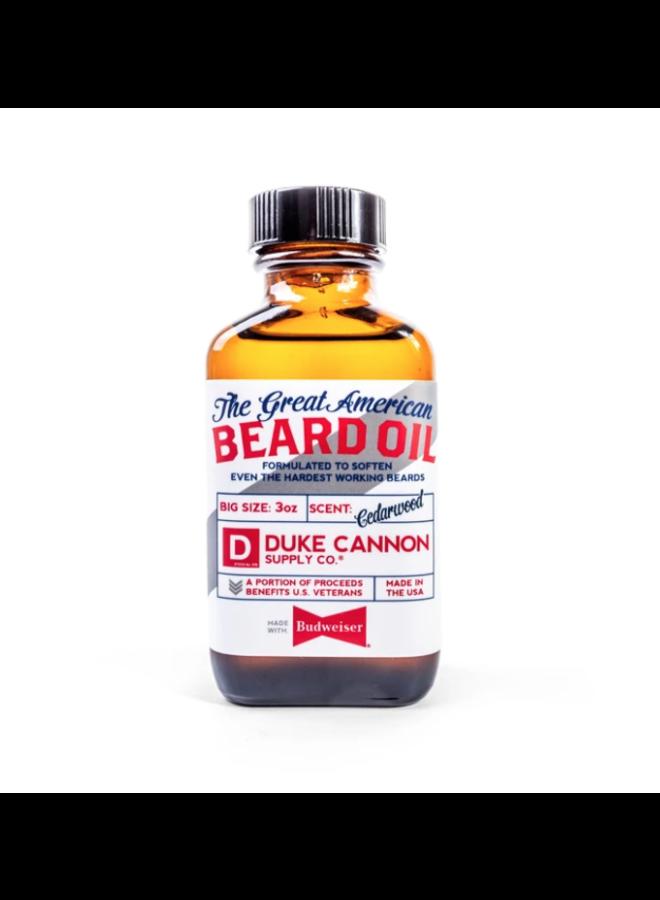 Budweiser Beard Oil