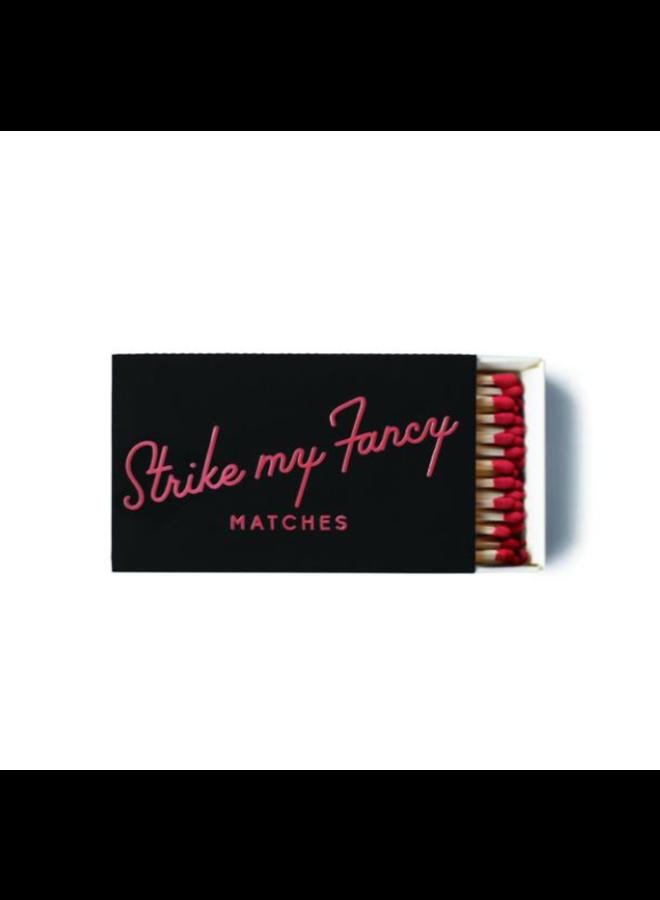 50 pk Safety Matches: Strike My Fancy