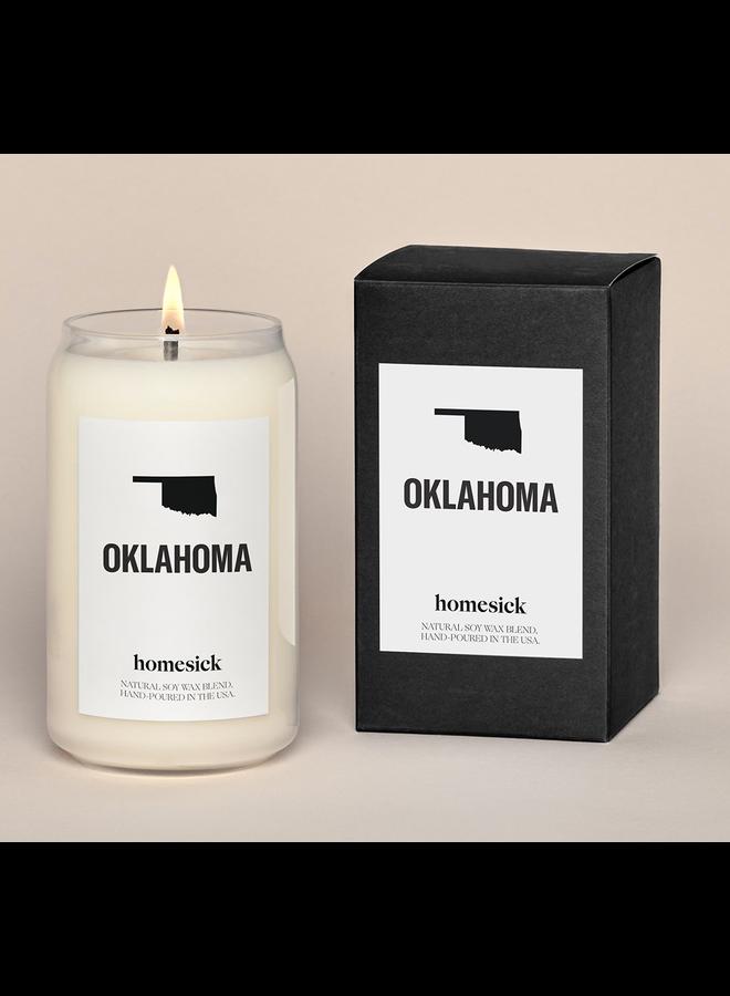 Oklahoma Candle