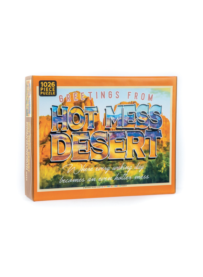 Hot Mess Desert Puzzle