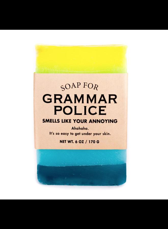 Grammar Police Soap