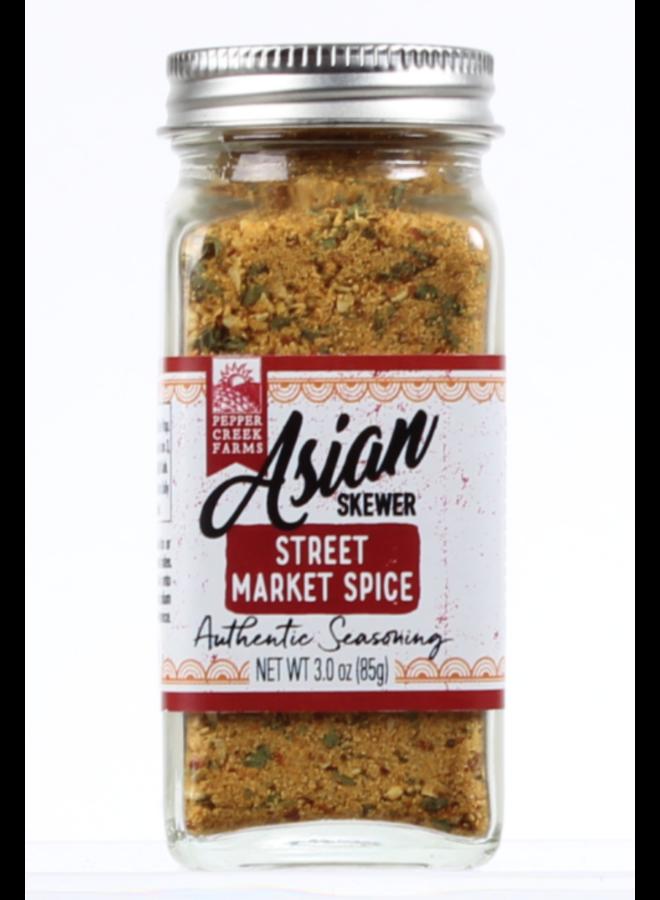 Asian Skewer Street Market Spice