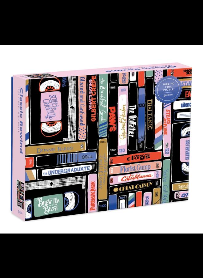 Classic Rewind 1000 Pc Puzzle