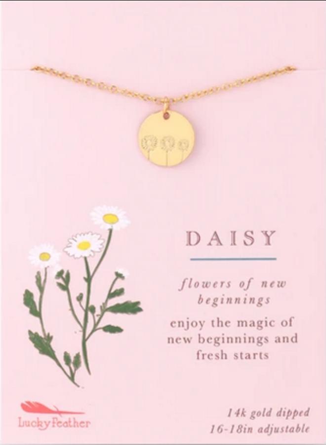 Botanical Necklace - Daisy