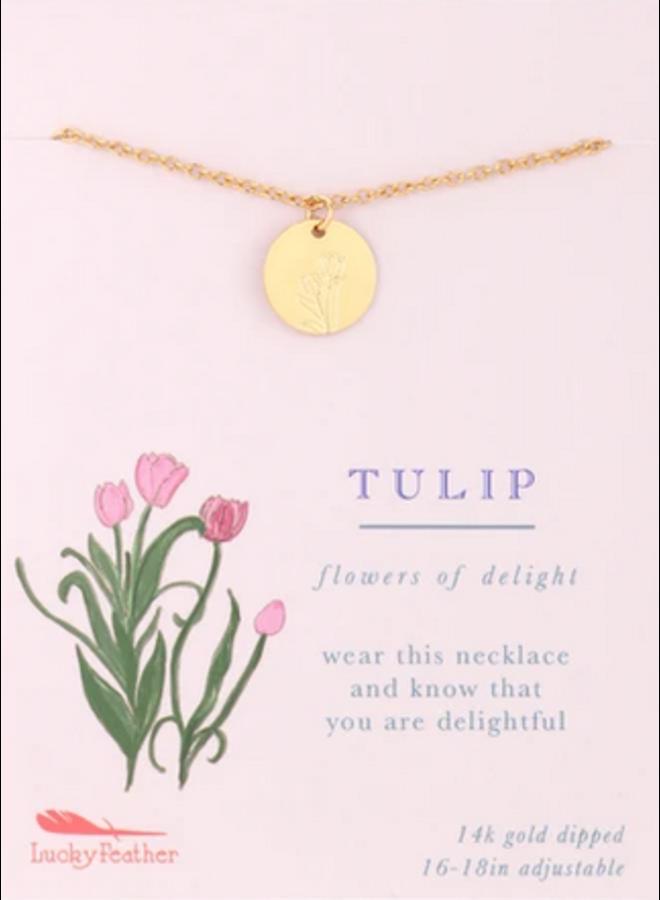 Botanical Necklace - Tulip