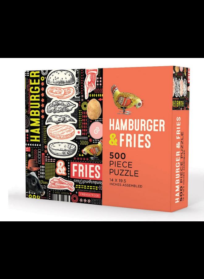 Hamburger and Fries (500 pc)