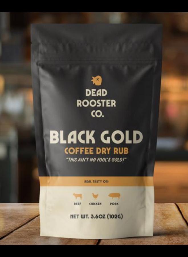 Black Gold Coffee Dry Rub
