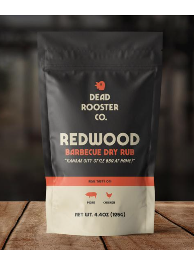 Redwood Barbecue Dry Rub