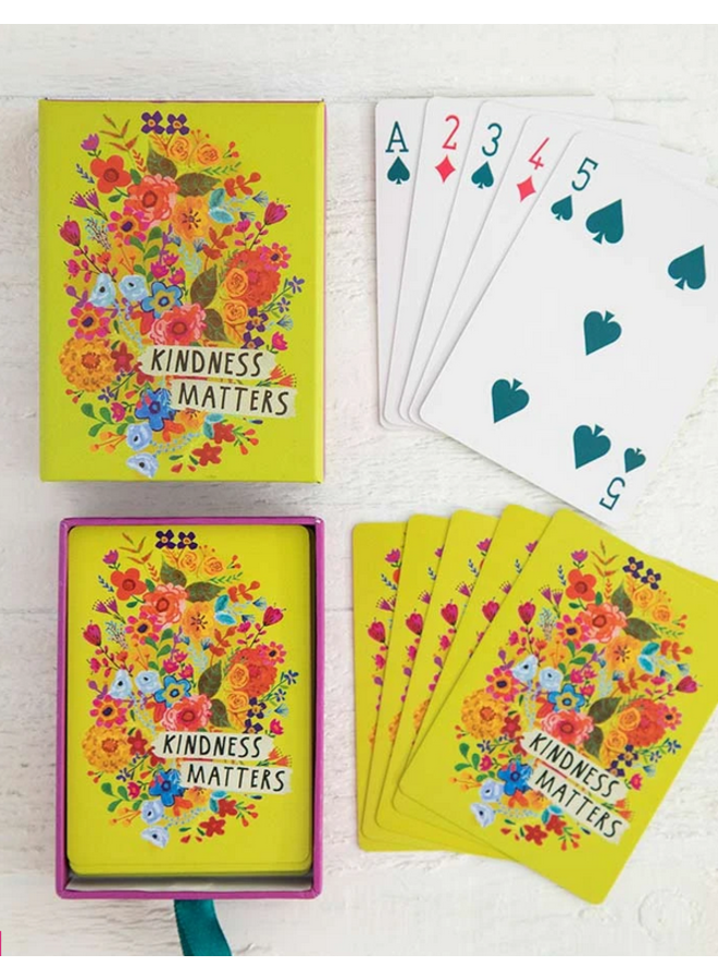 Kindness Matters Playing Cards