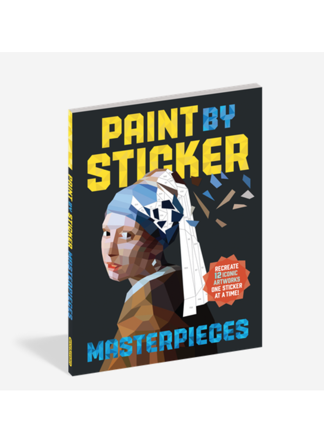 Paint By Stickers- Masterpieces