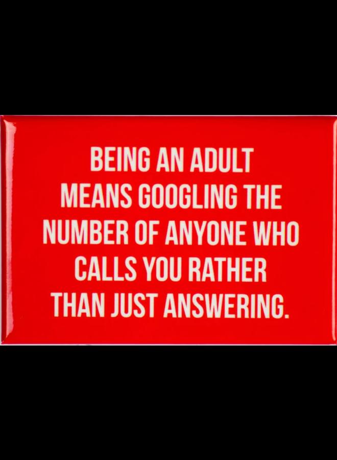 Google Phone Number Magnet