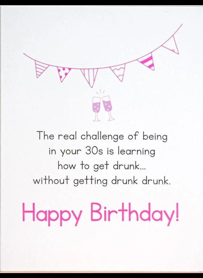 Drunk Drunk Birthday Card