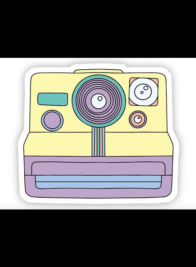 Multicolor Camera Aesthetic Sticker