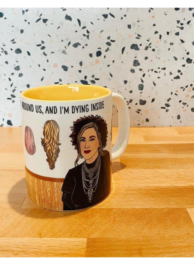 Moira The World Is Falling Apart Mug