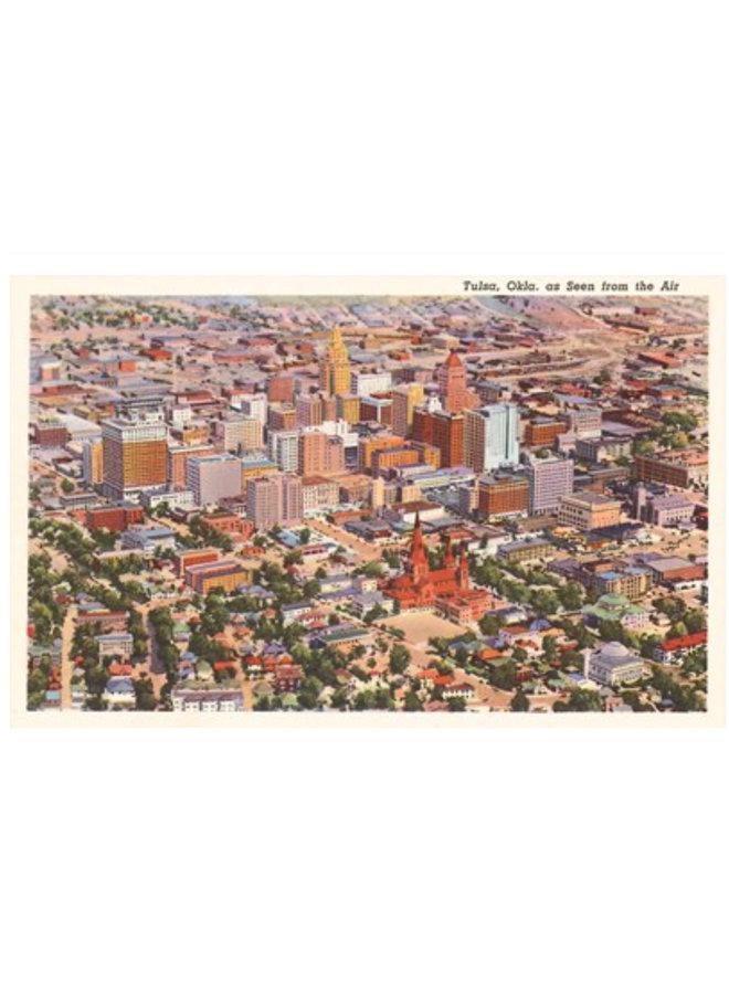 View Over Tulsa Postcard