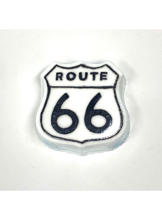 Route 66 Shaped Bath Bomb