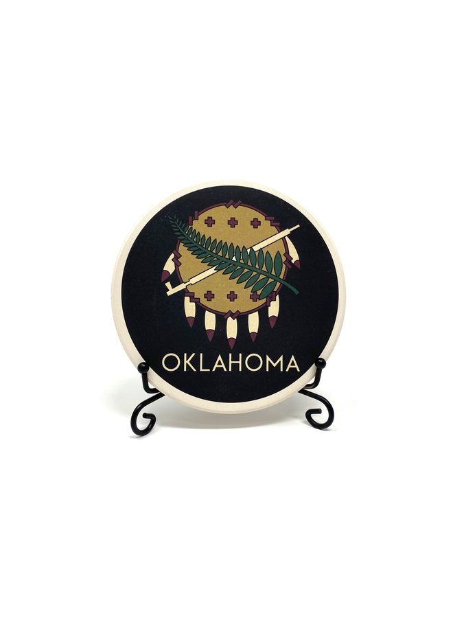 Osage Shield Coaster