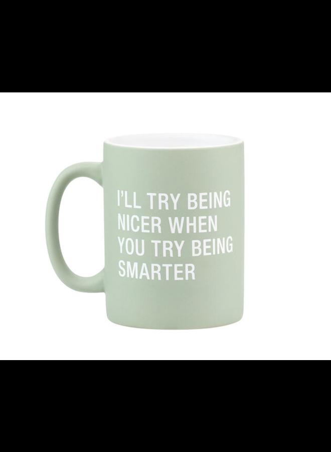 Being Smarter Mug