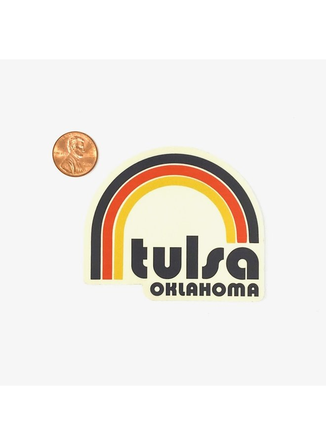 Tulsa Happy Days Sticker