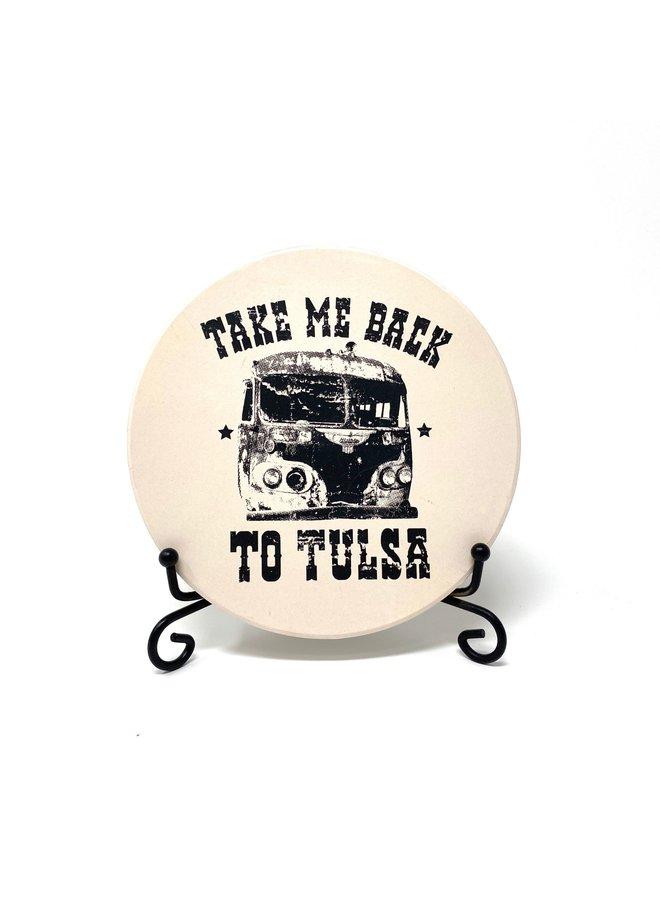 Take Me Back to Tulsa Coaster