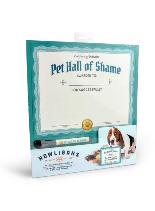 Howligans Pet Shaming