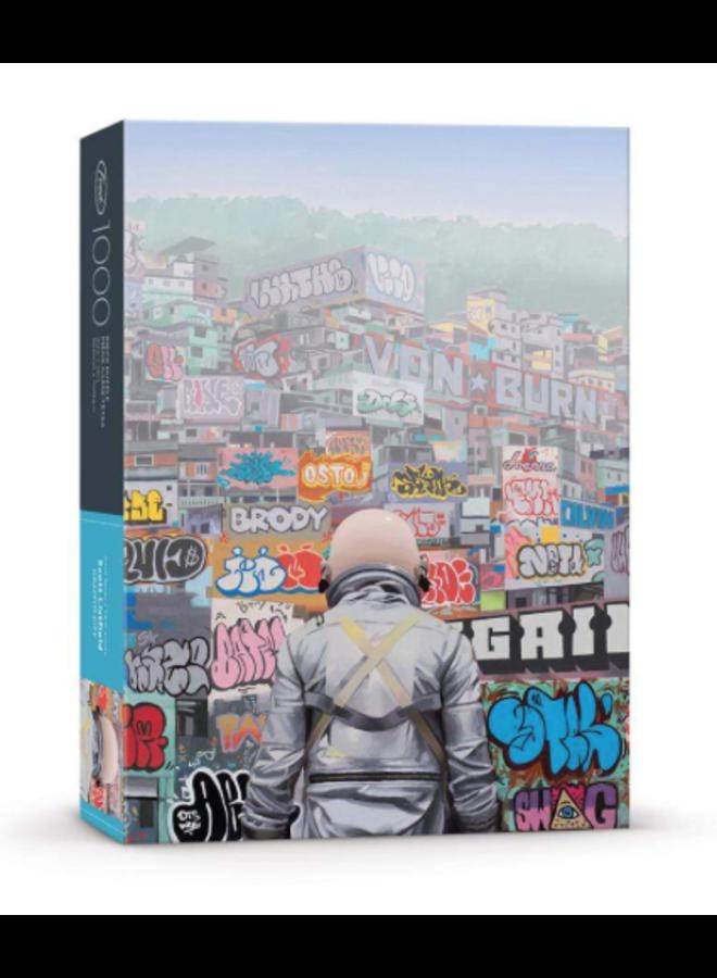 Listfield Graffiti Puzzle 1000 Pc