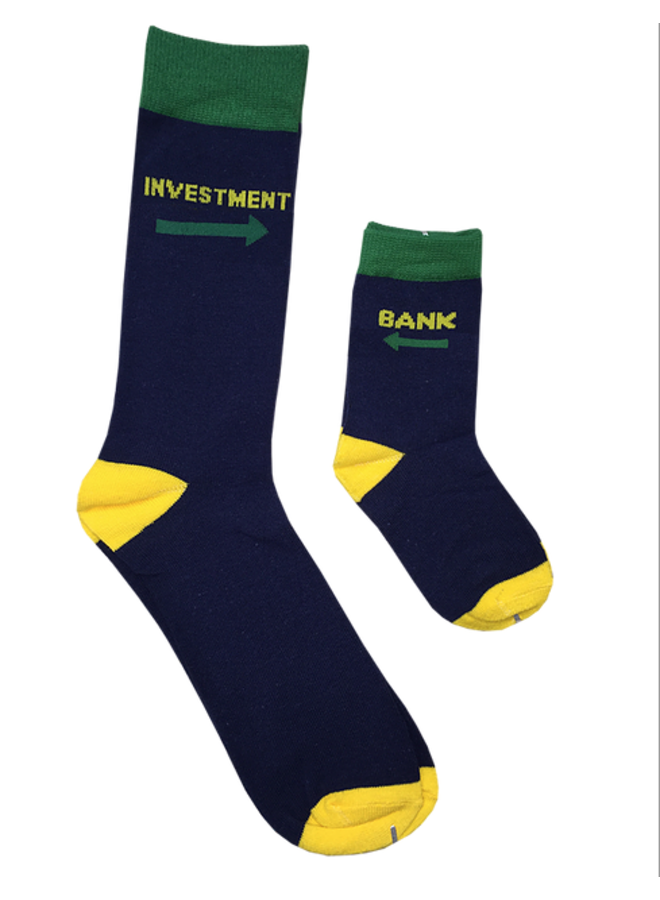 Daddy & Me Investment Bank Socks