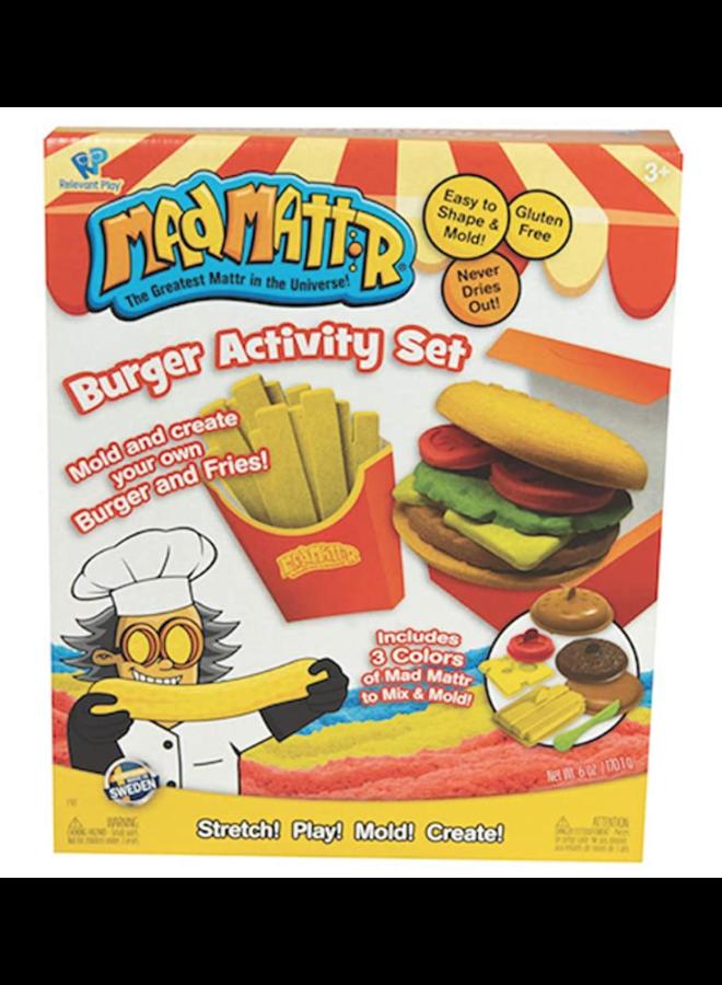 Mad Mattr Burger Activity Set